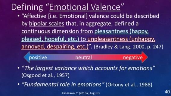 emotional valence
