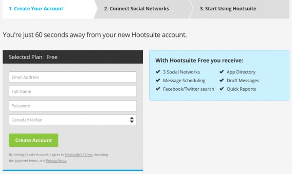 HootSuite In-Field Labels