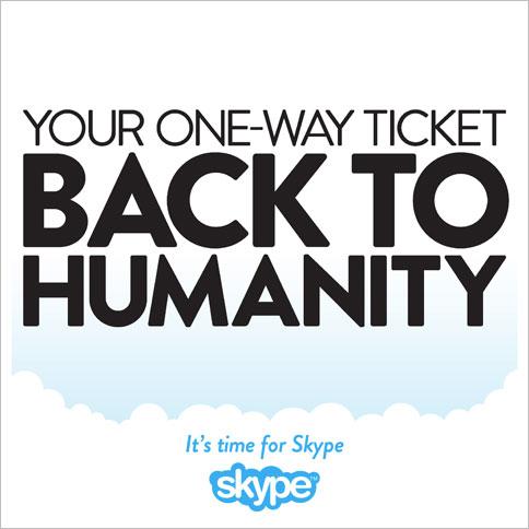 Skype Emotional Persuasion ad.