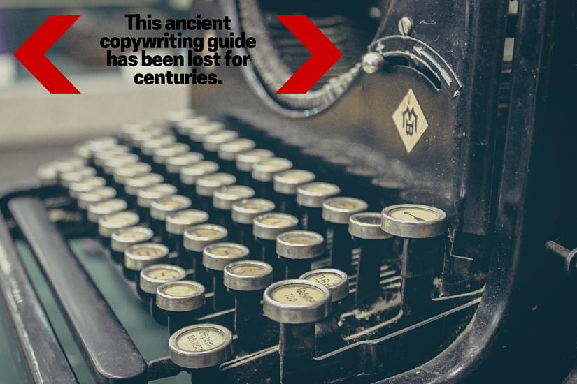 Ancient Copywriting