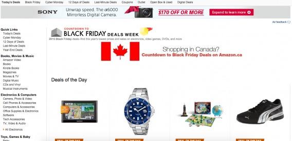 Amazon's Black Friday Deals