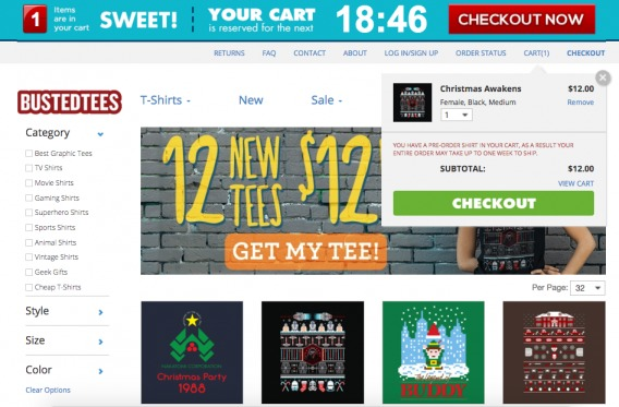 BustedTees Experience (Step 3)