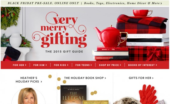 Chapters Gift Guide
