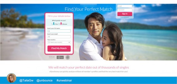 Dating Site Variant 1