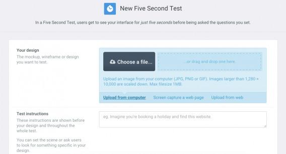 5 Second Test