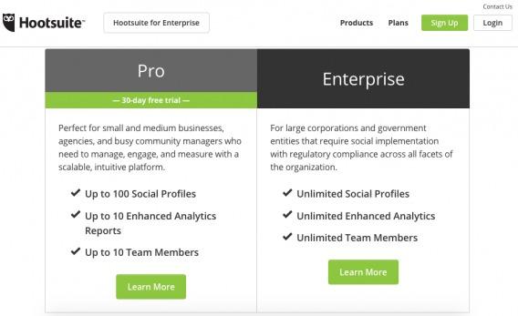 Homepage Segmentation