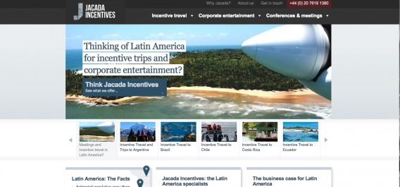 """Thinking of latin america for incentive trips and corporate entertainment? Think Jacada Incentives"""