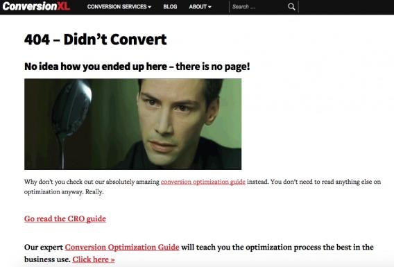 ConversionXL 404