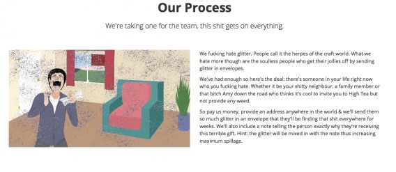 ShipYourEnemiesGlitter Process