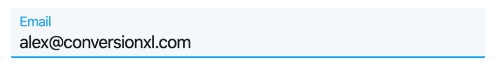 Twitter form validation, second example.
