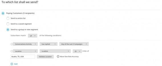 MailChimp Step 4