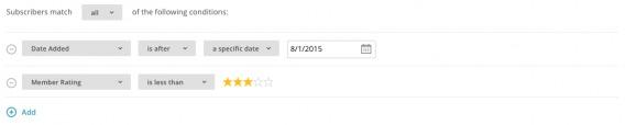 MailChimp Update Profiles
