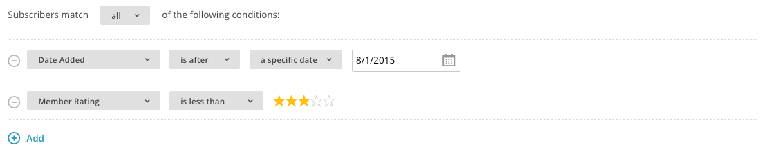 MailChimp Update Profiles.