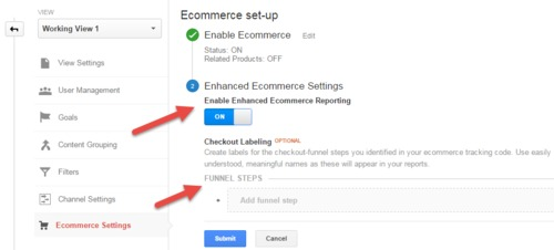 Enhanced eCommerce