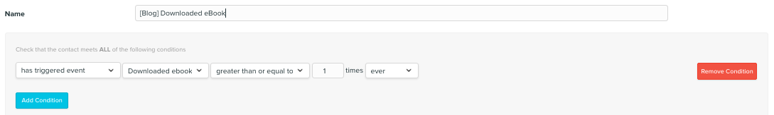 Vero Tracking Events.