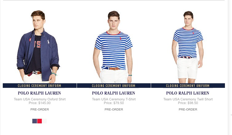 example of scarcity from Ralph Lauren.