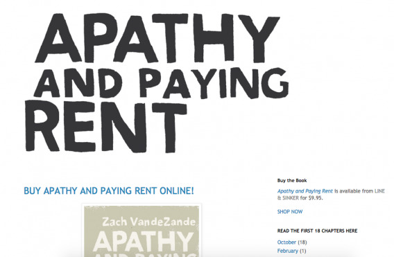 Apathy and Paying Rent (Site)