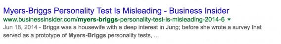 MBTI Search Results 3