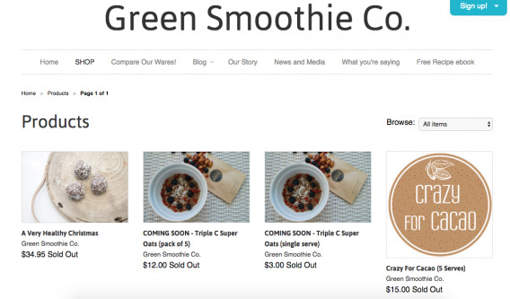 Green Smoothie Co.