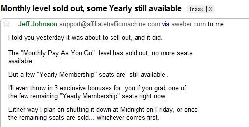 example of false scarcity.