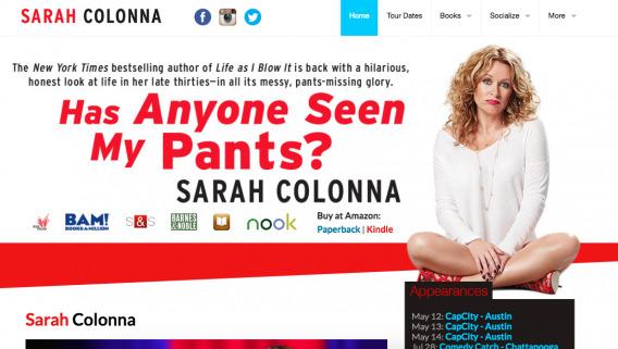 Sarah Colonna (Site)