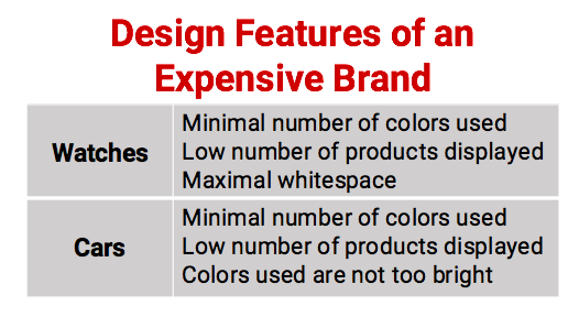 """How to Create a """"Luxurious"""" User Experience (and Avoid Looking """"Cheap"""")"""
