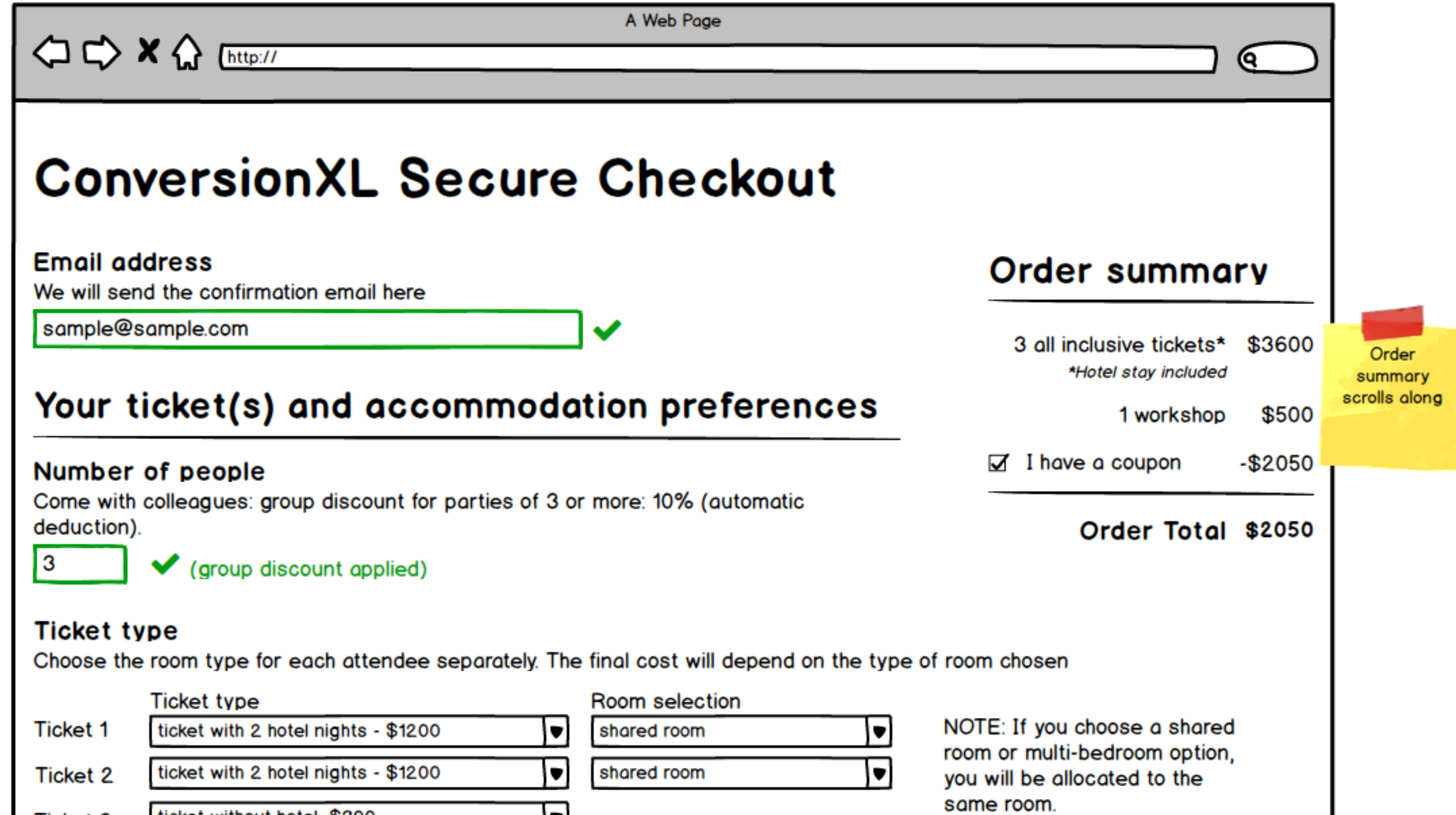 A Primer on Wireframing for Conversion Optimization