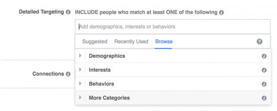 Facebook Targeting