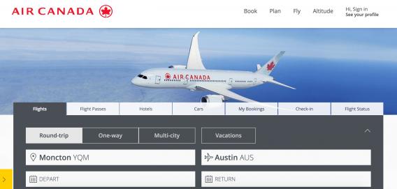 Air Canada Tabs