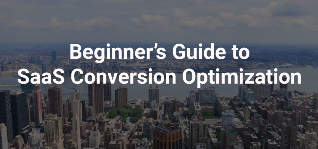 The Beginner's Guide to SaaS Conversion Optimization