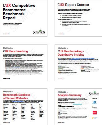 Hacer un nombre Intervenir Ausencia  Competitive UX Benchmarking | CXL