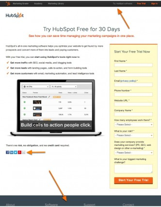hubspot-page