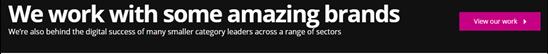 Test of FreshEgg's homepage with Optimize 360, original design.