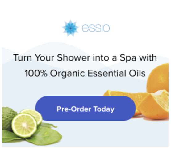 Essio display ad.