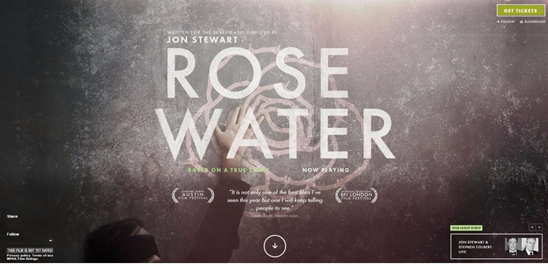 Rose water click test with UsabilityHub, without the ghost button.
