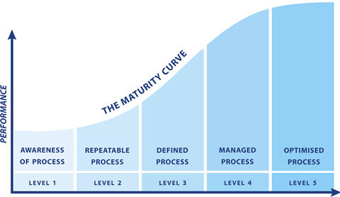 digital maturity curve.
