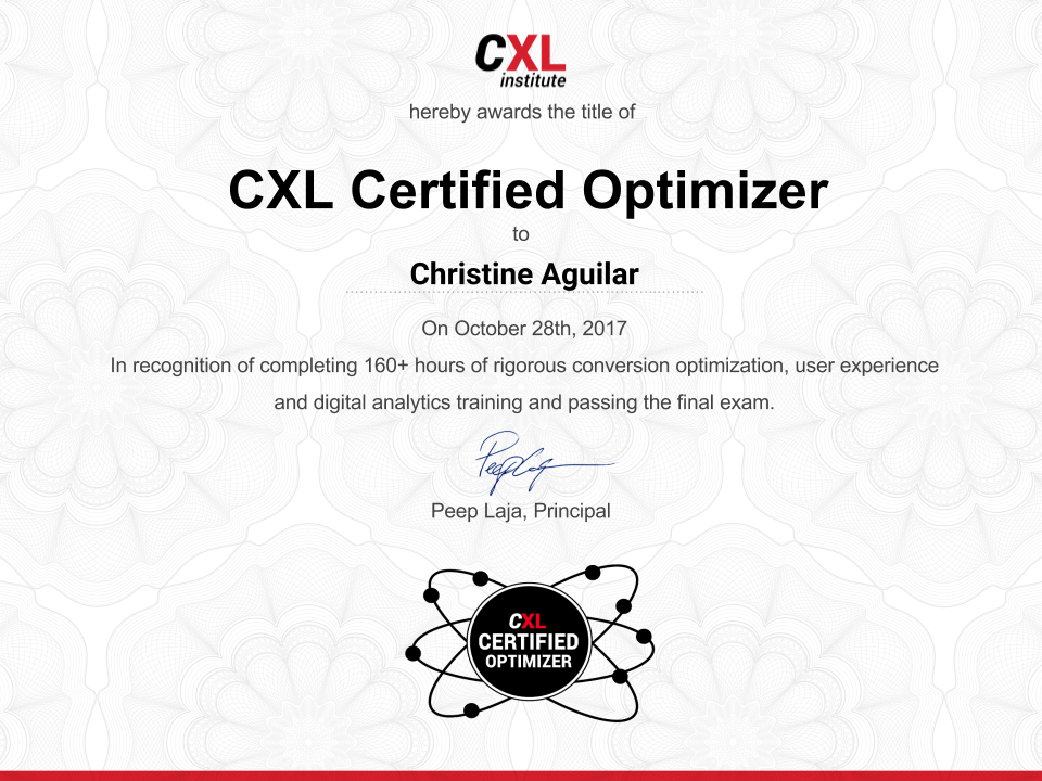 Cxl Institute Now An Official Education Provider At Linkedin