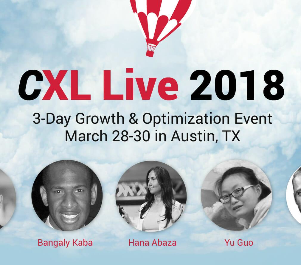 CXL Live 2018: March 28-30