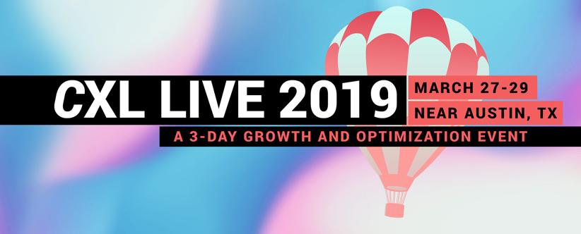 Image result for 7.CXL Live Conference | Austin 2019