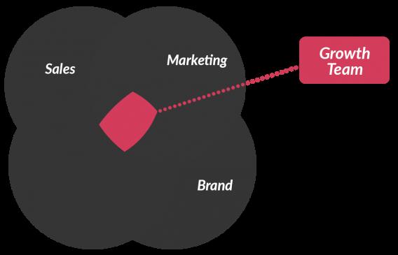growth team organization venn diagram