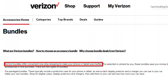 verizon accessory bundles