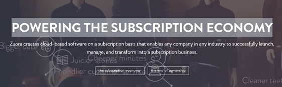 subscription economy zuora