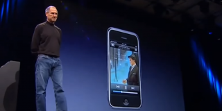 steve jobs iphone reveal