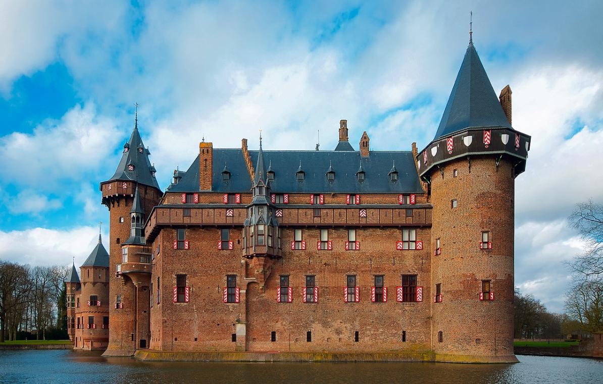 moat around castle