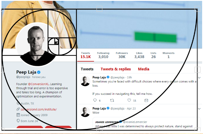 golden ratio twitter