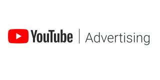 youtube advertising logo.