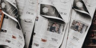 sales copy in newspaper.