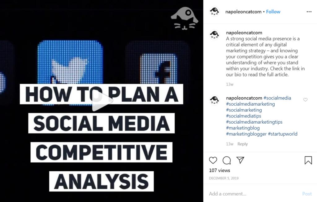 example of short tutorial on instagram.