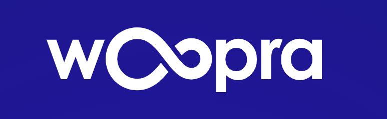 woopra logo.