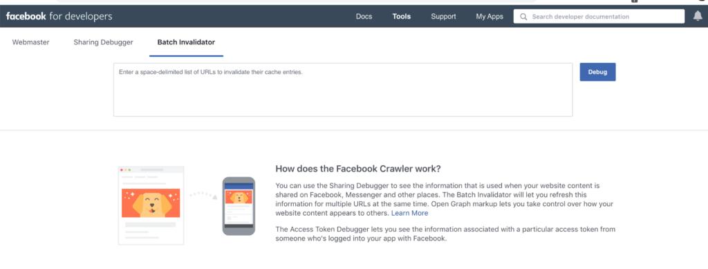 facebook batch invalidator.